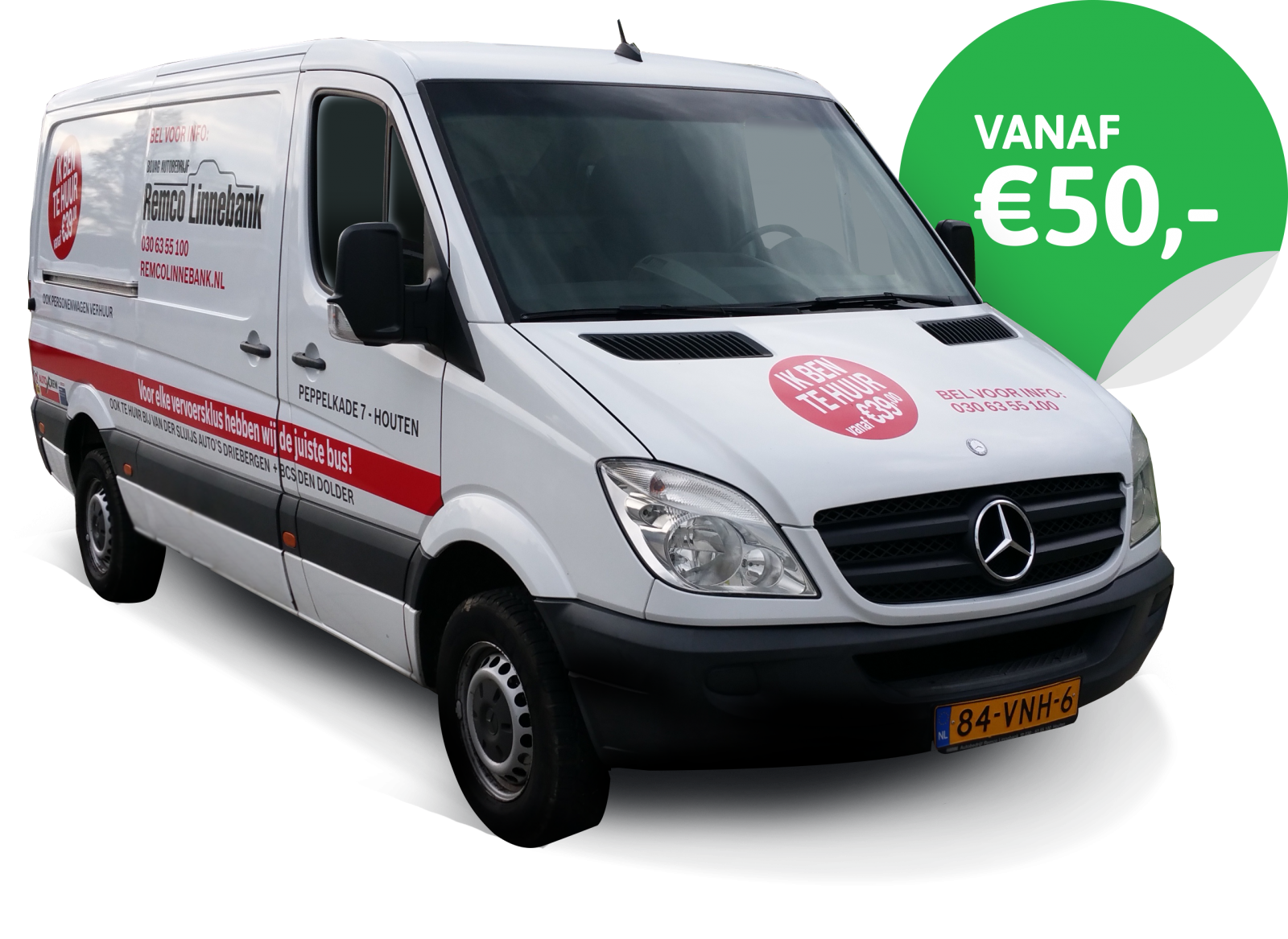 Een Mercedes-Benz Sprinter huren in Vianen